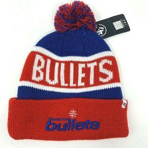 '47 Brand Washington Bullets Winter Beanie Hat